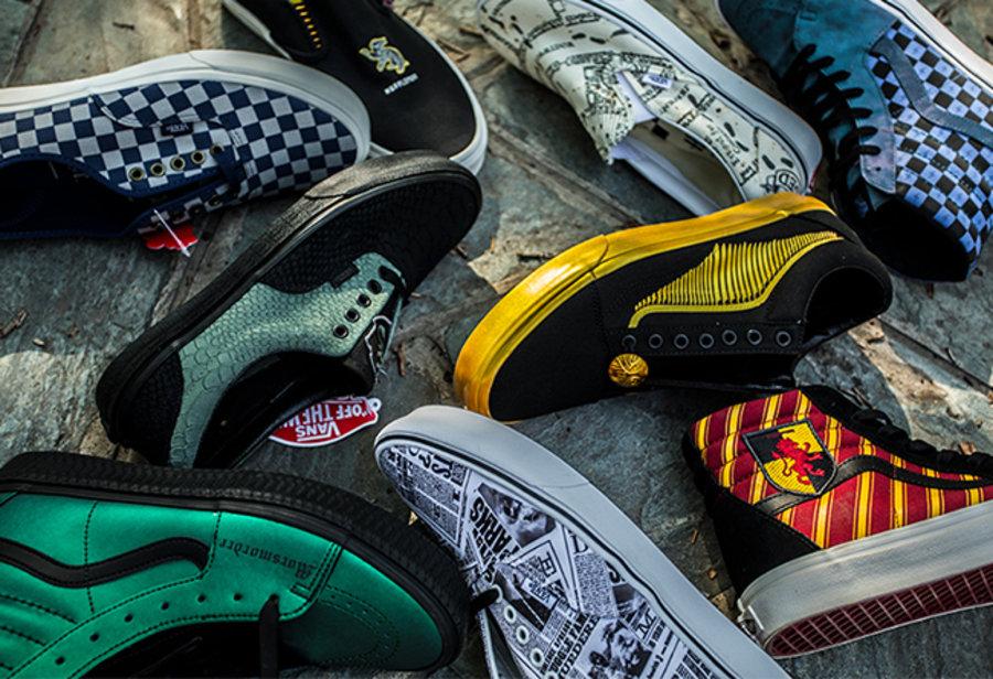 哈利波特 x Vans 联名来了!9 双鞋可不太好选!