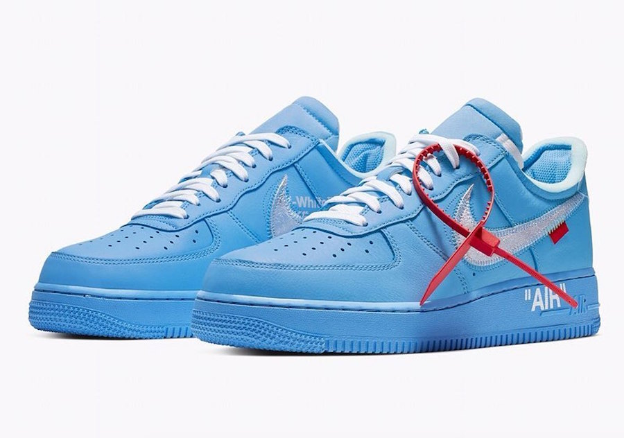 Air Force 1,OFF-WHITE,发售  「The Ten」仍在继续!蓝色 OW x Air Force 1 确定发售!