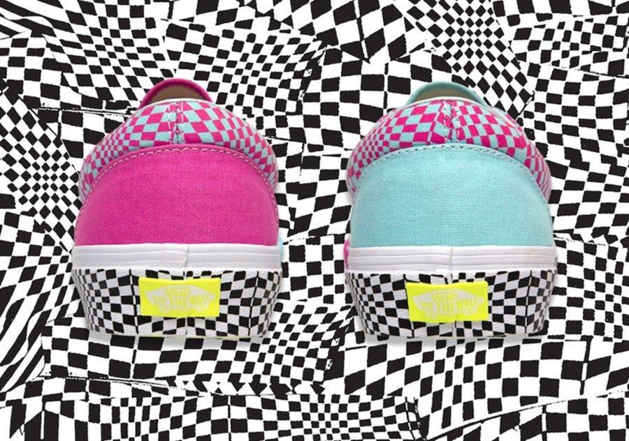 Vans,Vans Era,Size  鸳鸯设计+迷幻棋盘格!size? x Vans Era 即将发售!