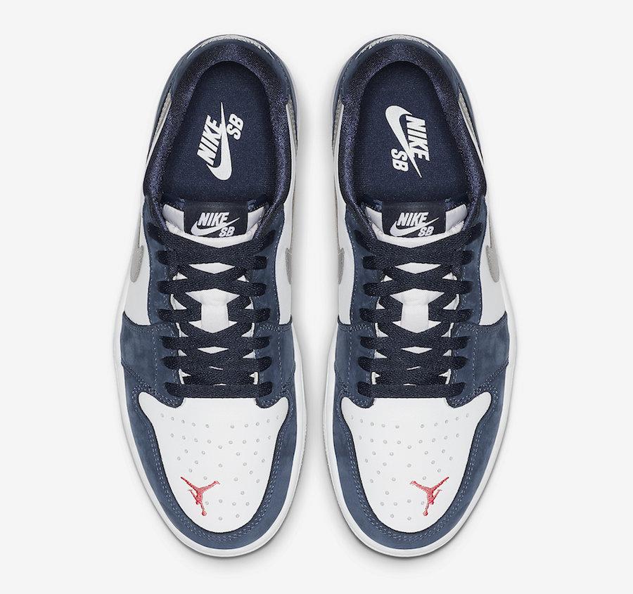 AJ1,Air Jordan 1 Low,Nike,SB,发  Nike SB x AJ1 Low 本月发售!自家联名还没结束!