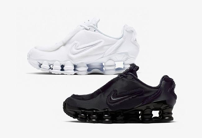 CDG,Nike,Shox TL,CJ0546-100,CJ  下周发售!前卫解构的 CDG x Nike Shox TL 官图释出