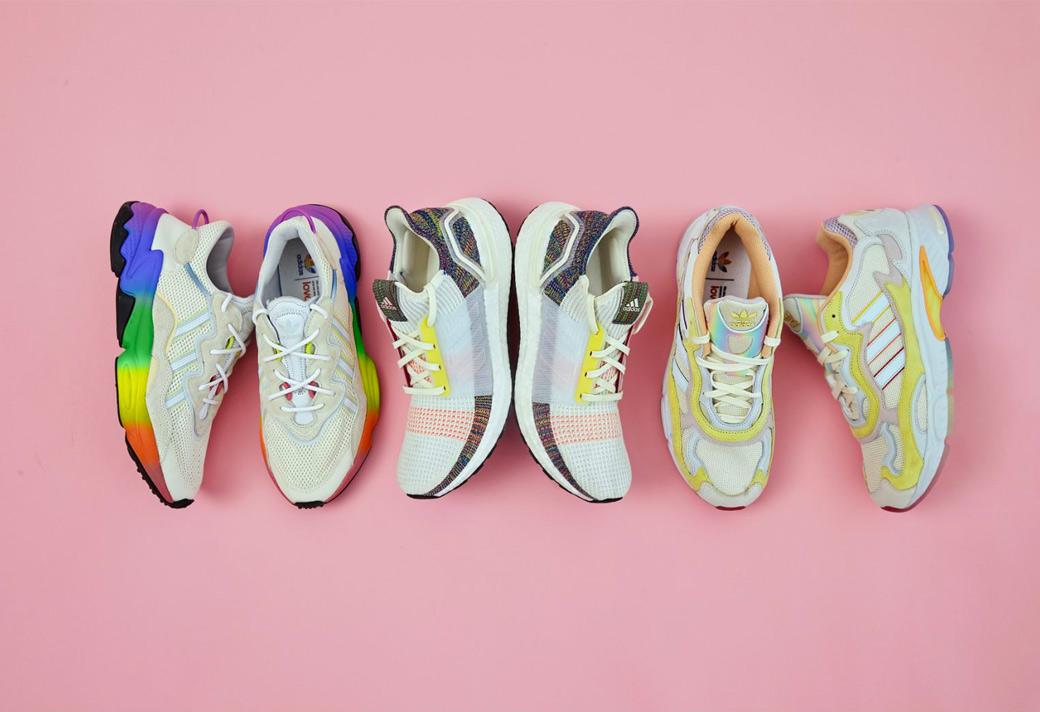 adidas,Pride,发售  部分单品已售罄!彩虹 adidas Pride 系列现已发售