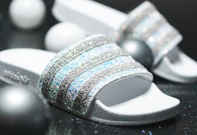 adidas,Adilette,Women,EE4810  万人迷的「水晶拖鞋」来了!adidas Adilette 官网刚刚上架!
