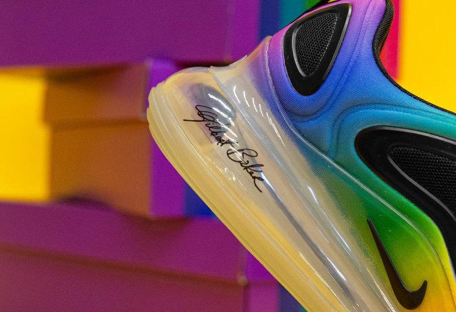 Air Max 720,Nike,发售  可能是最美配色!彩虹 Air Max 720 本周六发售!