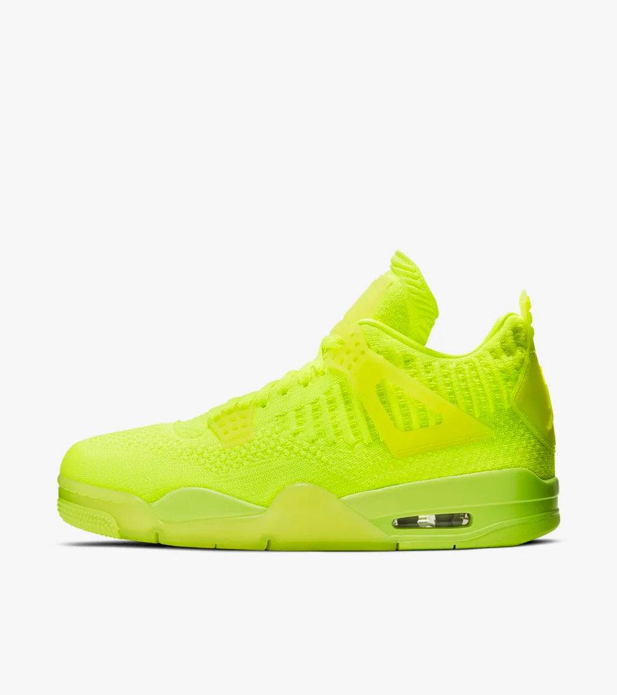 Nike,Air Jordan 4,AJ4,发售,AQ355  编织鞋面 + 水晶鞋底!双色 Air Jordan 4 Flyknit 本周同时发售!
