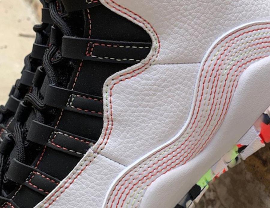Nike,Air Jordan 10,AJ10,发售  今年首款 Air Jordan 10 实物曝光!预计下月发售!