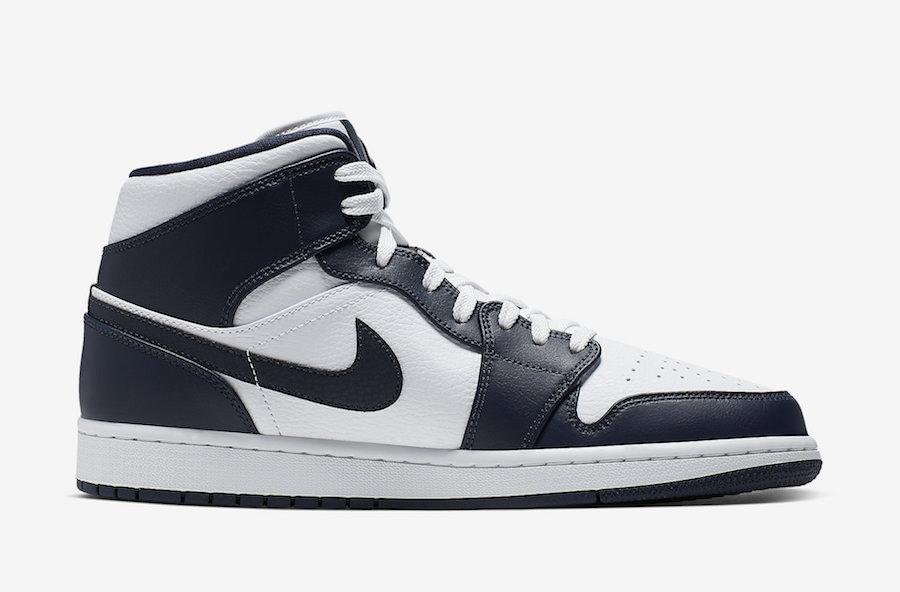 Nike,Air Jordan 1 Mid,AJ1 Mid,  黑曜石 + 小金人!这双 Air Jordan 1 Mid 你打几分?