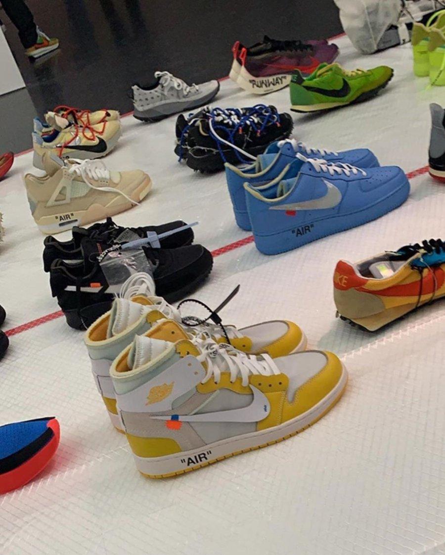 Nike,OFF-WHITE  50 张图看过瘾!这里的 OFF-WHITE x Nike 你都没见过!
