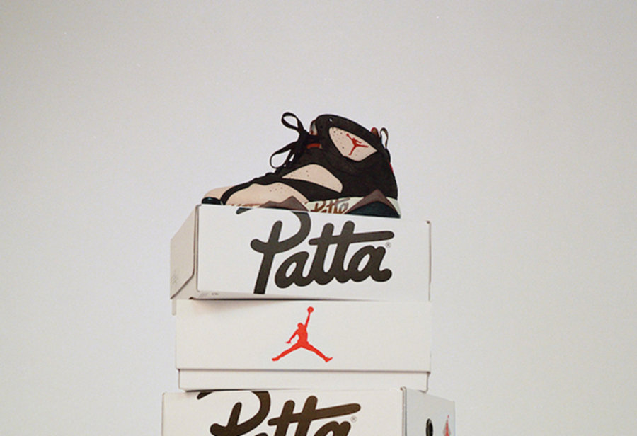 Patta,Air JOrdan 7,AJ7,发售  Patta x Air Jordan 7 领衔!明早要抢的狠货真不少!