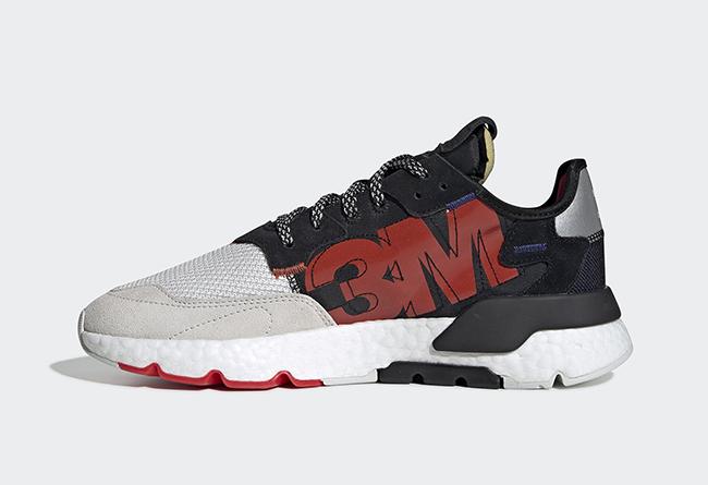 adidas,Nite Jogger,3M,EF9419,发  鞋身印有醒目字体!3M x adidas Nite Jogger 最新联名曝光!