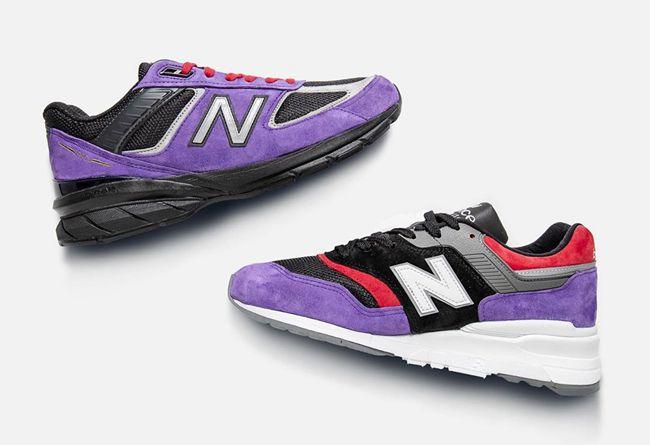 New Balance,997,990v5  猛龙配色冠军套装登场!New Balance 990 系列开启登记!