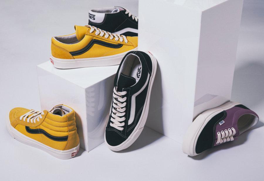 Vault by Vans,Vans  高端做工的「元年系列」!Vault by Vans OG Pack 即将发售