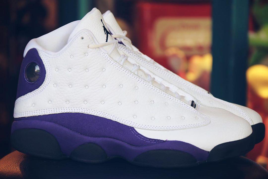 Air Jordan 13,AJ13,Nike,發售,414  華麗出眾的湖人配色!全新 Air Jordan 13 下月發售!
