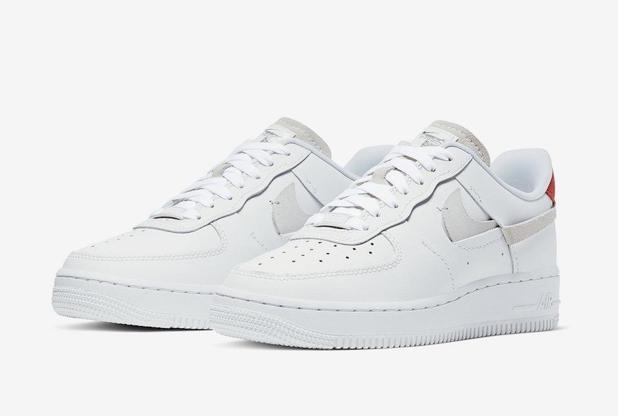 Nike,Air Force 1,发售,898889-103  比 Supreme x CDG 联名还要独特!断钩 Air Force 1 下周发售!