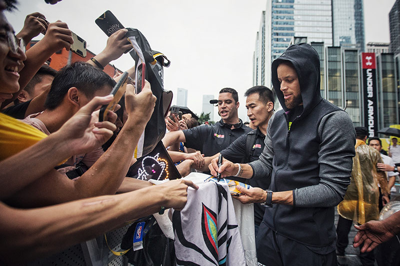 UA,库里,Curry 6,Roaracle  库里上脚限量配色!「UA 2019 篮球亚洲行」第一站精彩回顾