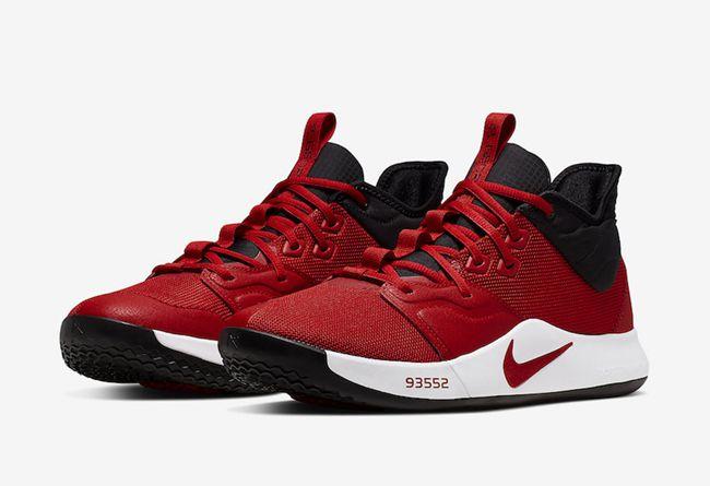 Nike,PG 3,AO2607-600,发售  经典黑红装扮!PG 3 全新配色下周发售!