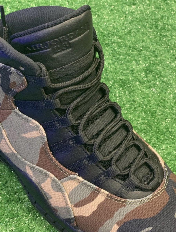 Air Jordan 10,AJ10,发售,310805-2  硬朗军事造型!迷彩 Air Jordan 10 实物曝光!八月发售!