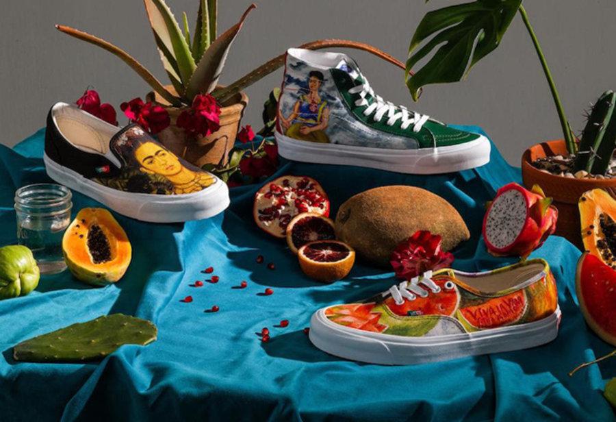 Frida Kahlo,Vans,Vans Vault,发售  美如画系列又来了!Frida Kahlo x Vans 系列即将发售