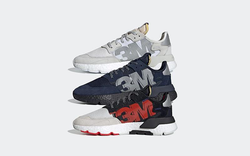 "adidas,Nite Jogger,3M Project,  反光大佬的跨界联名!adidas Nite Jogger ""3M Project"" 即将发售"