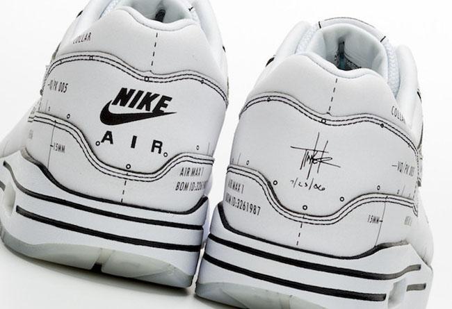 Nike,Air Max 1,Tinker,Schemati  官方二次元!手稿 Air Max 1 Thinker 新品曝光,年底发售!