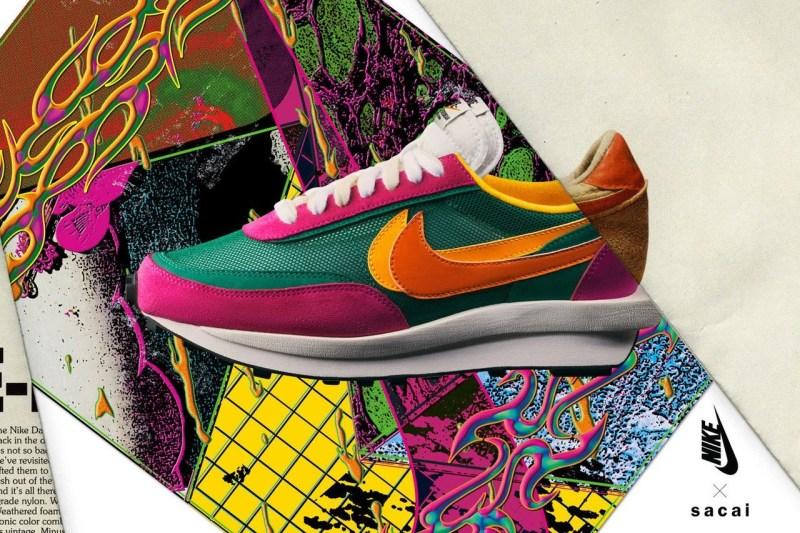 Sacai,Nike,LDV Waffle,Blazer,发  首发配色市价破 4K!sacai x Nike 三款新配色下月发售!