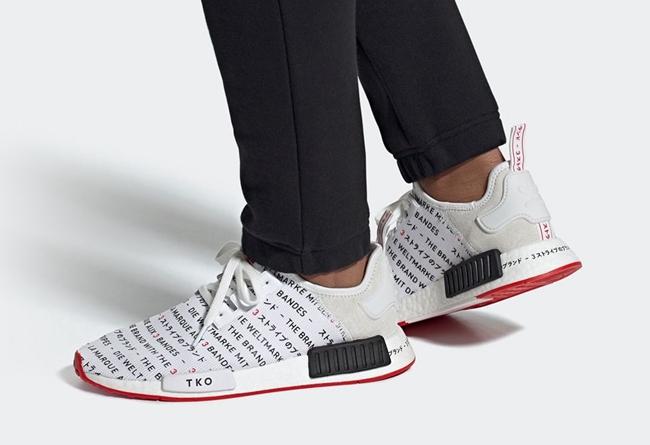 "adidas,NMD,R1,Tokoyo  日文 ""弹幕"" 样式鞋面!全新配色 adidas NMD R1 本月登场!"