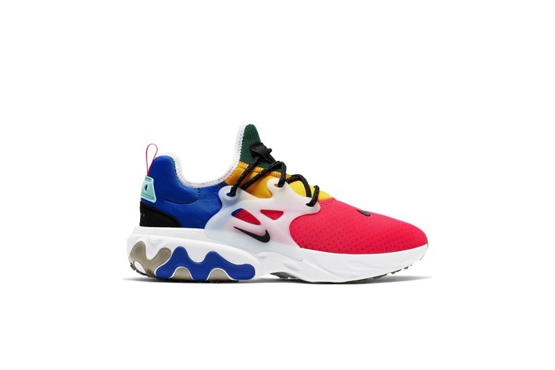 Nike,React Presto,React Elemen  相同色彩拼接设计!两款 Nike React 跑鞋登陆国内官网