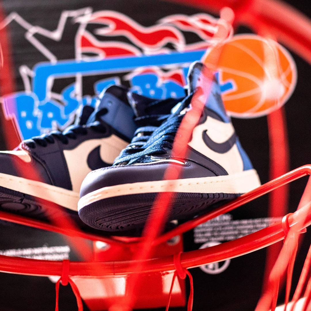AJ1,Air Jordan 1,发售,555088-140  黑曜石 Air Jordan 1 下月发售!不少人都想买!