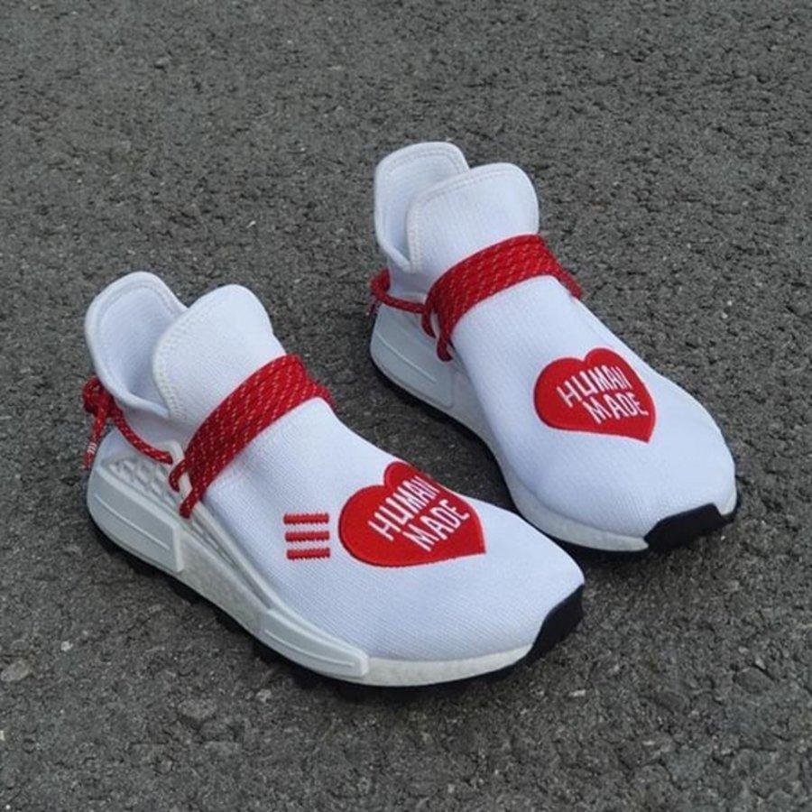 Human Made,adidas,Hu NMD  罕见的三方联名!Human Made x Hu NMD 完成实物曝光