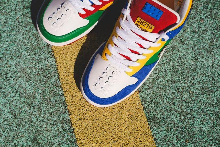 Nike,Dunk SB Low,Lego  乐高 x Nike Dunk SB Low 太好看了!这设计看了就想买!