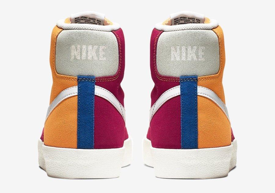Nike,Blazer Mid Vintage,CI1167  鸳鸯撞色设计!Nike Blazer Mid 新品周四发售!