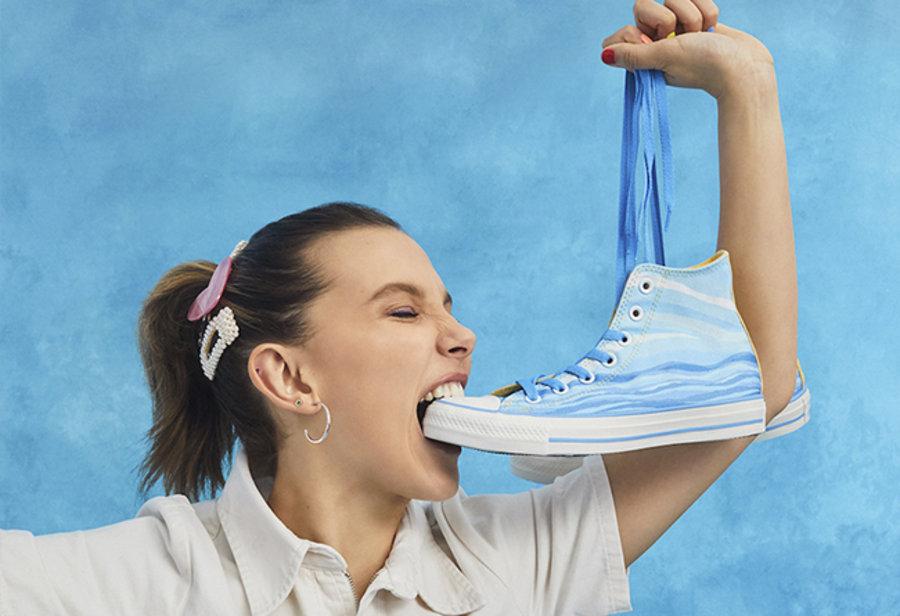 Converse,All Star,发售,明星  《怪奇物语》女主联名!小 11 专属 Converse 鞋款本周发售