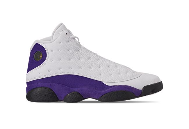 AJ13,Air Jordan 13,414571-105  紫金配色终于要来了!湖人 Air Jordan 13 下周发售