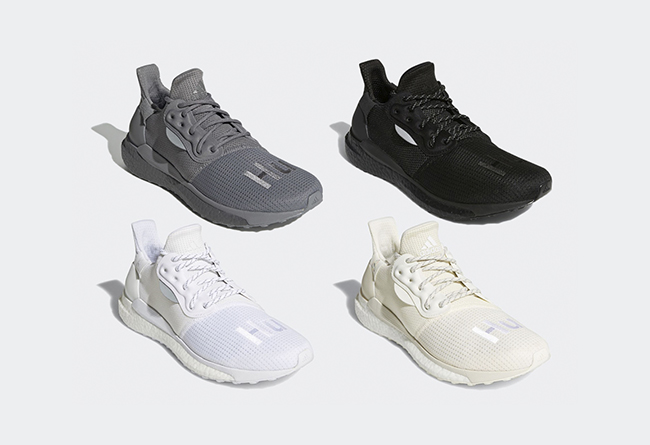 Solar Hu,adidas,发售,EF2378,EG77  素雅百搭设计!四款纯色菲董 Solar Hu 新品下周发售