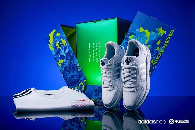 adidas neo,发售  「王者荣耀」联名球鞋真来了!李白、诸葛亮、大乔全都有!