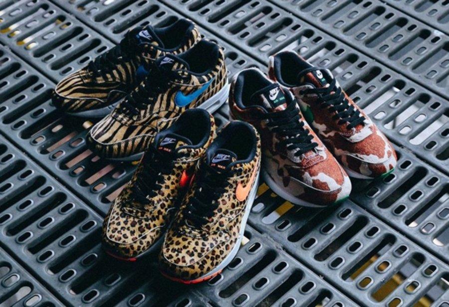「,动物园,系列,」,重出,江湖,双,全新,联名,  全新「动物园」系列!3 双联名 atmos x Air Max 1 本周发售!