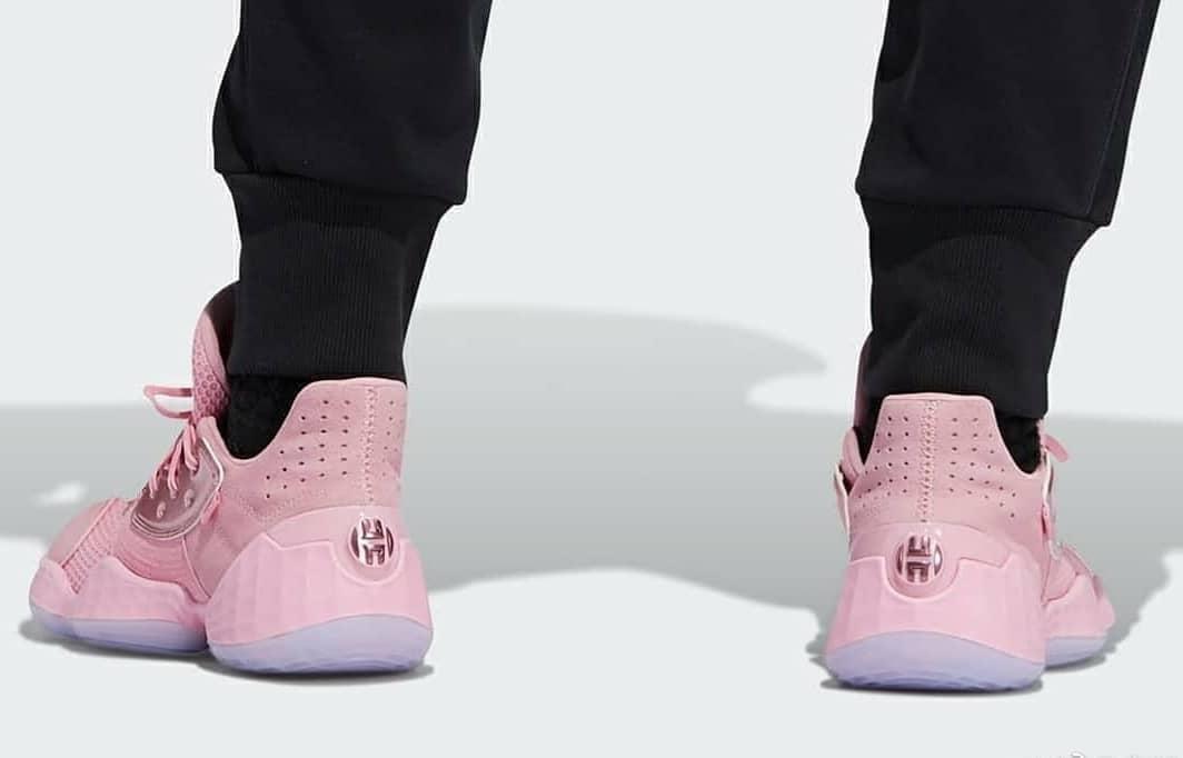 adidas,Harden Vol.4,Harden  全新缓震+天足概念!哈登新战靴 Harden Vol.4 上脚图首次曝光
