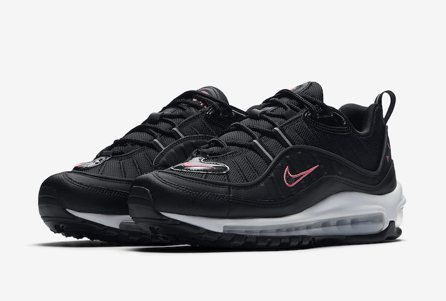 Air Max 98,Nike,CN0140-001  黑粉配色 + 3M 反光条!全新 Air Max 98 近期发售!