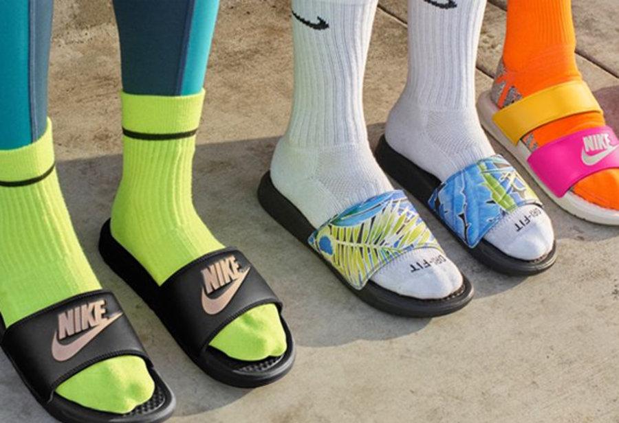 Nike.com,Nike,福利,拖鞋,凉拖  官网薅羊毛!折扣+满减,Nike「夏日拖鞋」限时福利刚刚开启