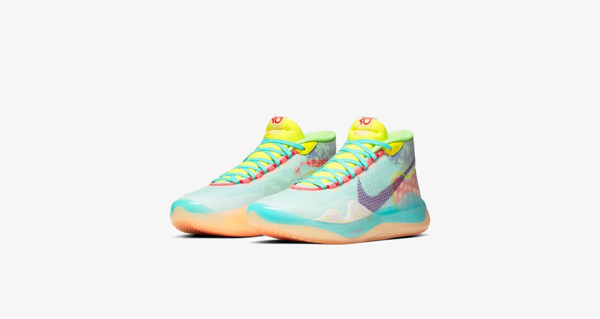 "Nike,KD12,Peach Jam,CK1197-300  清爽夏日的糖果色调!全新配色 KD12 ""Peach Jam"" 明日发售!"