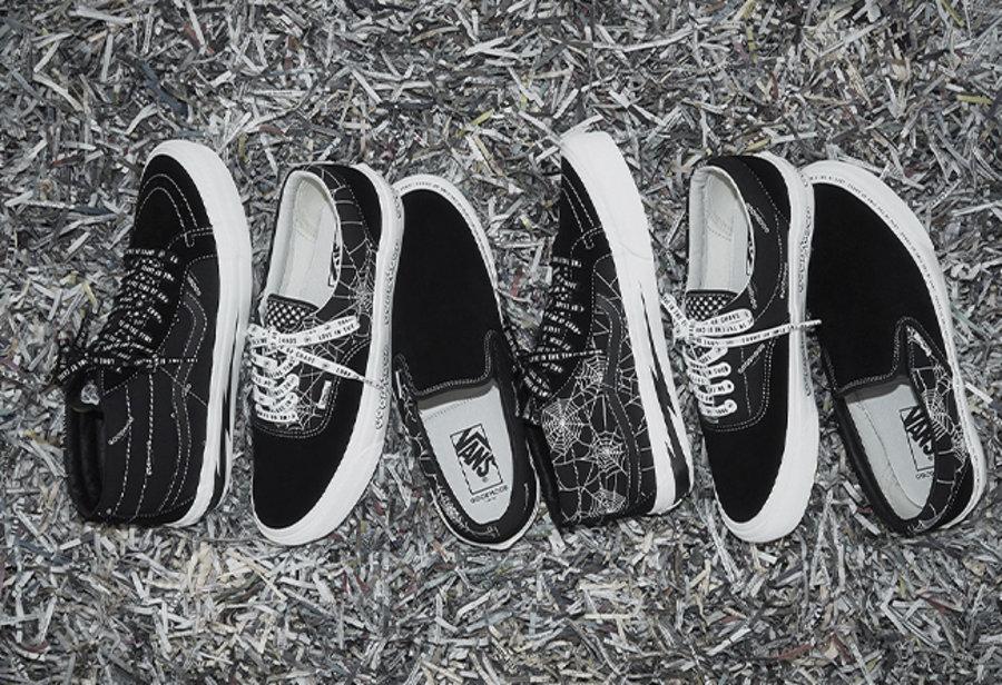 Goodhood,Vans,发售  暗黑朋克主题!Goodhood x Vans 系列月底发售