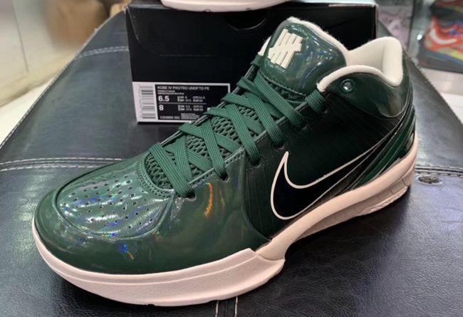 UNDEFEATED,Nike,Kobe 4 Protro,  「天价联名」再迎新品!UNDFTD x ZK4 完整细节曝光!
