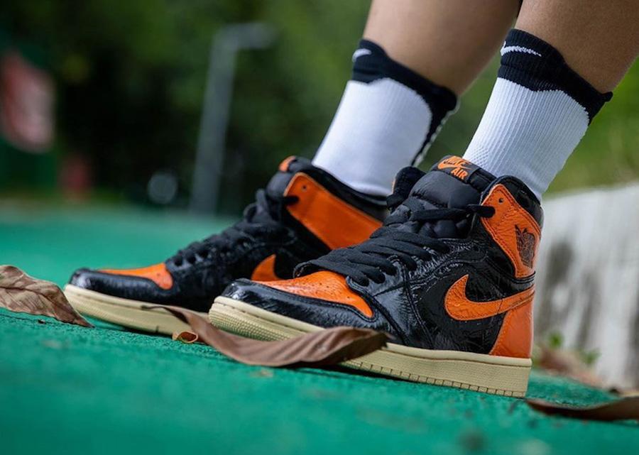 Air Jordan 1,AJ1,555088-028,发售  年度最失望配色?不存在的!这双 AJ1「扣碎 3.0」上脚真的香!