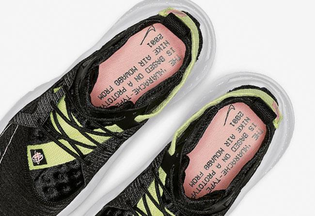 Nike,Huarache Type,BQ5102-001  N354 系列新成员!全新解构 Nike Huarache Type 即将发售!