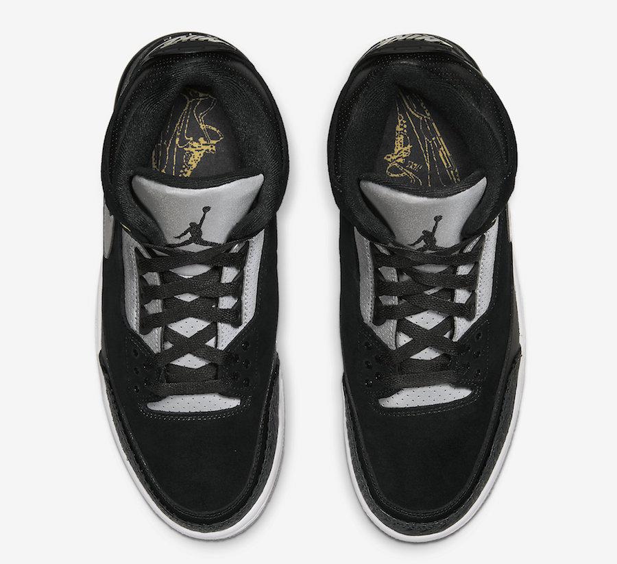 AJ3,Air Jordan 3,CK4348-007  细节颜值质感兼具!黑水泥 AJ3 Tinker 本周末发售