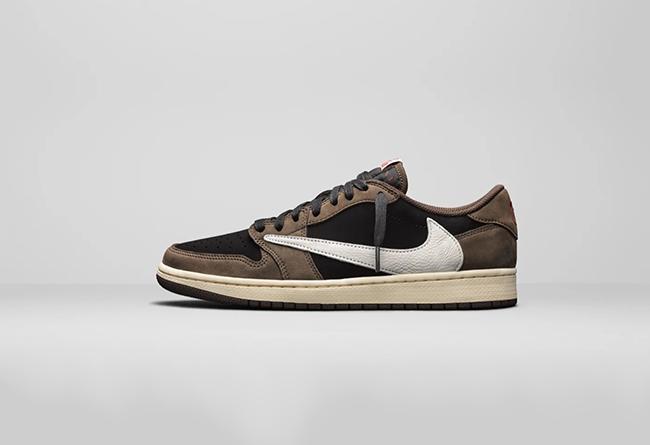 Nike,Travis Scott,Air Jordan 1  Travis Scott 本人官宣:低帮反勾 Air Jordan 1 Low 将不会再发售!