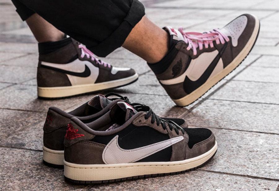 Nike,Travis Scott,Air Jordan 1  除了怒〖涨两千的低帮反勾,近期「话题鞋款」小编≡都穿了!