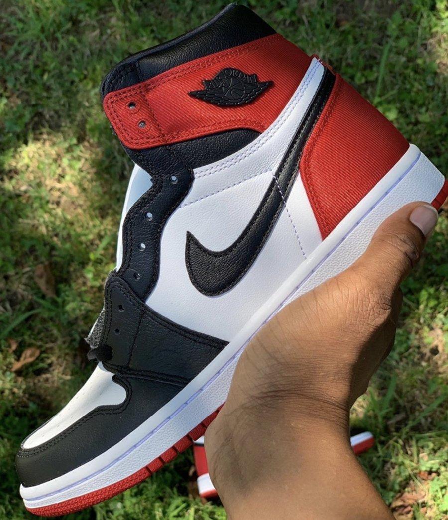 Air Jordan 1,AJ1,CD0461-016,发售  主体仍是皮革材质!丝绸黑脚趾 Air Jordan 1 下月即将发售!