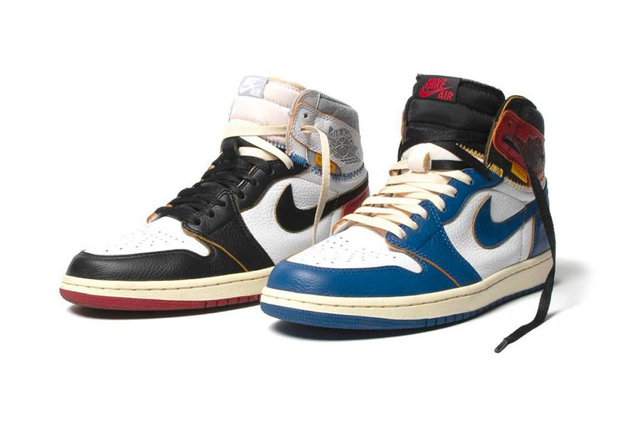 AJ1,Air Jordan 1,Union AJ1 天价联名 Union LA x AJ1 还有后续!下一款是 UNC 北卡配色!