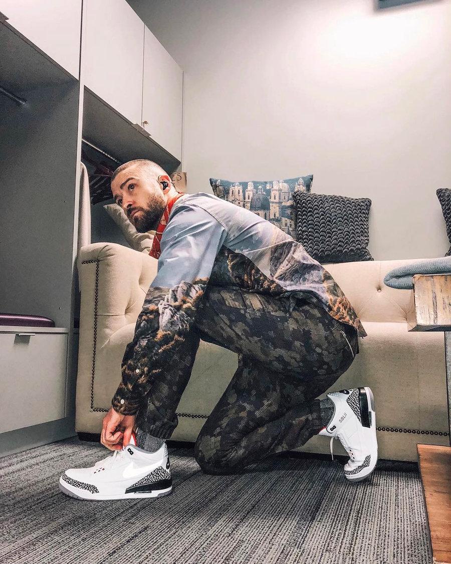 "Nike,Air Jordan 3,新乐园国际娱乐在线3,CK4348-0  醒目∴金扣点缀!黑水泥 Air Jordan 3 ""Tinker"" 上ζ脚美图来了!"
